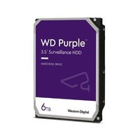 Hard Disk Drive Western Digital PURPLE 3.5'' HDD 6TB 5640RPM SATA 6Gb/s 128MB   WD62PURZ