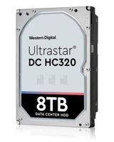 Hard Disk Drive Western Digital Ultrastar DC HC320 (7K8) 3.5'' HDD 8TB 7200RPM SATA 6Gb/s 256MB   0B36404