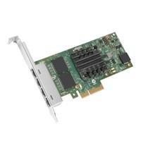 Network Card DELL 540-BBDV 4x RJ-45 PCI Express 1Gb