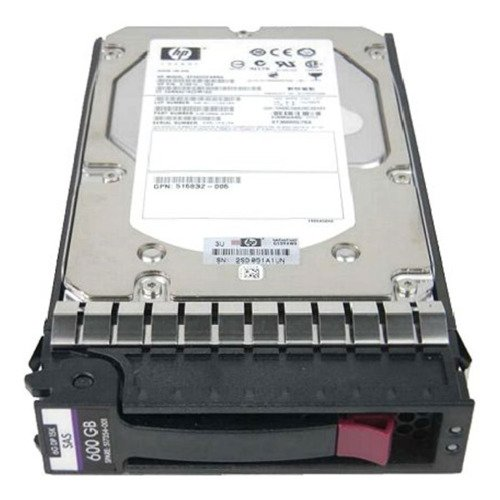 Hard Disc Drive dedicated for HP server 3.5'' capacity 600GB 15000RPM HDD SAS 6Gb/s 517354-001 |  516810-003