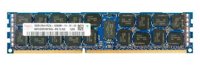 Memory RAM 1x 16GB Hynix ECC REGISTERED DDR3  1600MHz PC3-12800 RDIMM   HMT42GR7AFR4A-PB