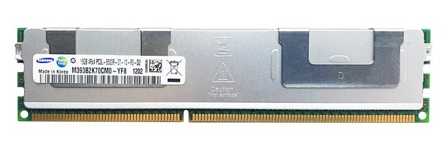 Memory RAM 1x 16GB Samsung ECC REGISTERED DDR3  1066MHz PC3-8500 RDIMM | M393B2K70CM0-YF8