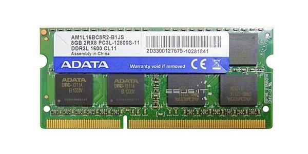 Memory RAM 1x 8GB HYPERTEC SO-DIMM DDR3 1600MHz PC3-12800   AM1L16BC8R2-B1