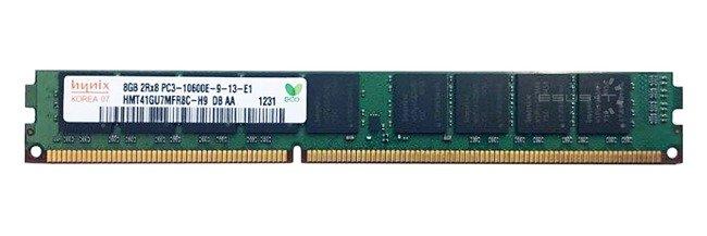 Memory RAM 1x 8GB Hynix ECC UNBUFFERED DDR3  1333MHz PC3-10600 UDIMM | HMT41GU7MFR8C-H9