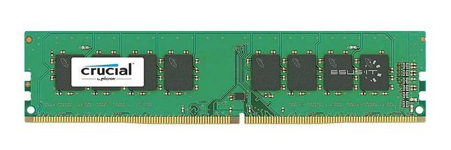 Memory RAM 1x 8GB Micron NON-ECC UNBUFFERED DDR4 2666MHZ PC4-21300 UDIMM | CT8G4DFS8266.8FB1